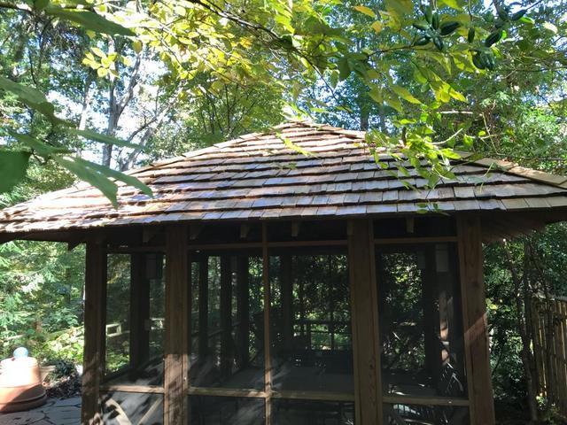 Cedar shake roof, Raleigh NC