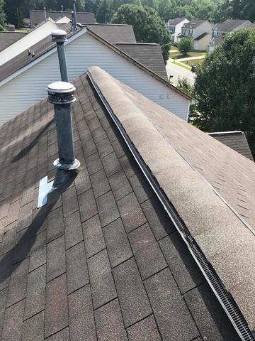 Charlotte, NC Roof Repair to Ridgevent