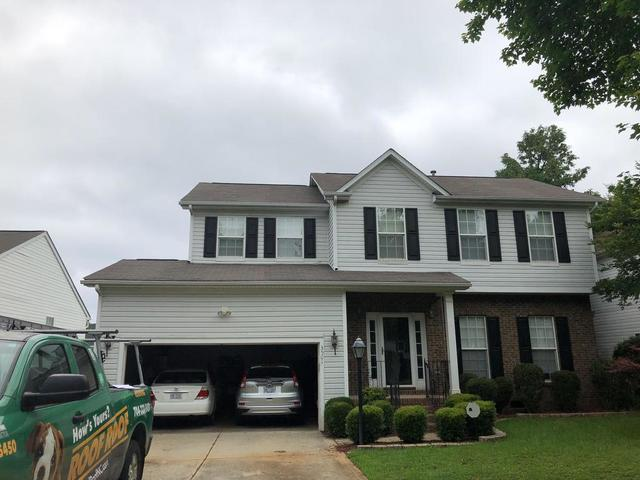 Charlotte, NC Hail Damage Roof Replacement