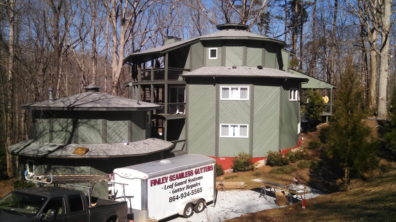 Roof Replacement in Lavonia, GA - After Photo
