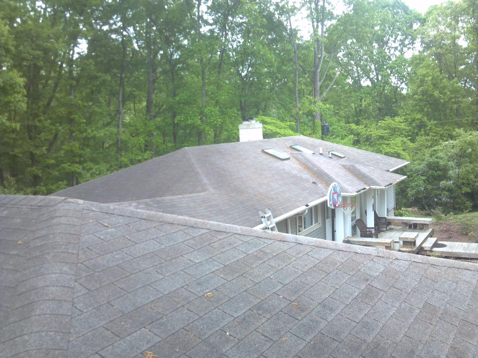 Roof Replacement in Clemson, SC - Before Photo