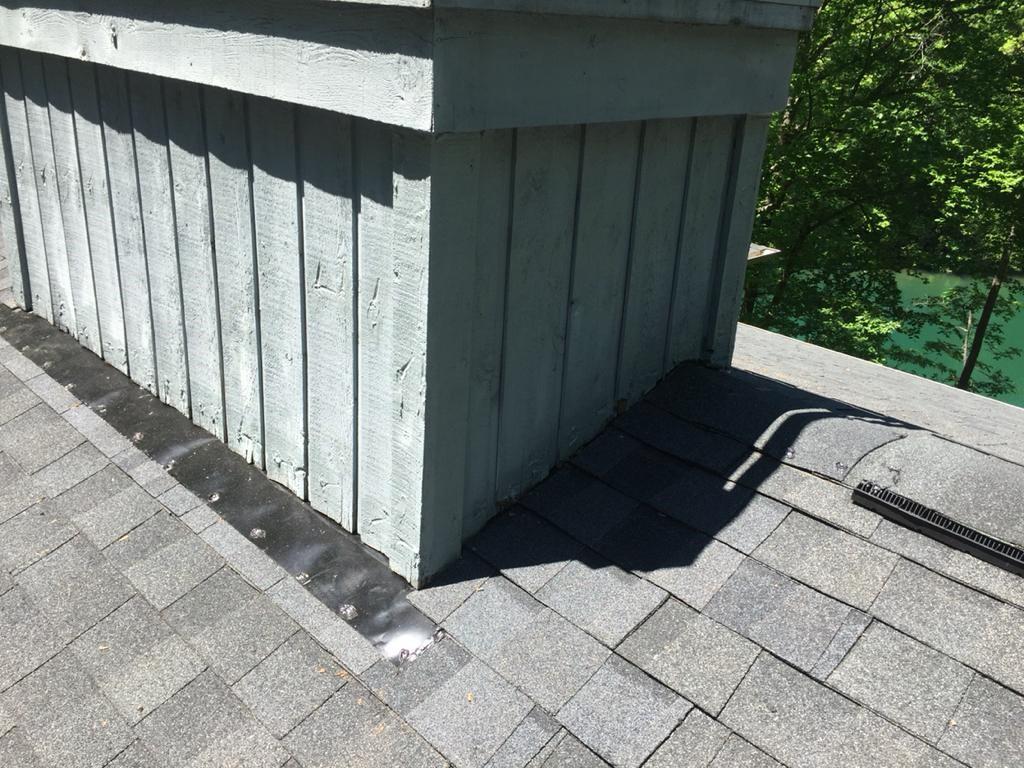 Re-flashed Chimney in Salem, SC - After Photo