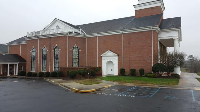 Concord Baptist Church Roof Replacement in Anderson, SC