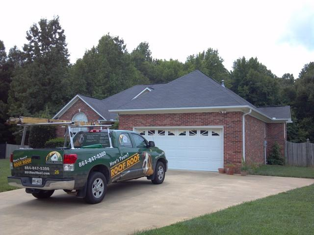Roof Replacement in Simpsonville, SC