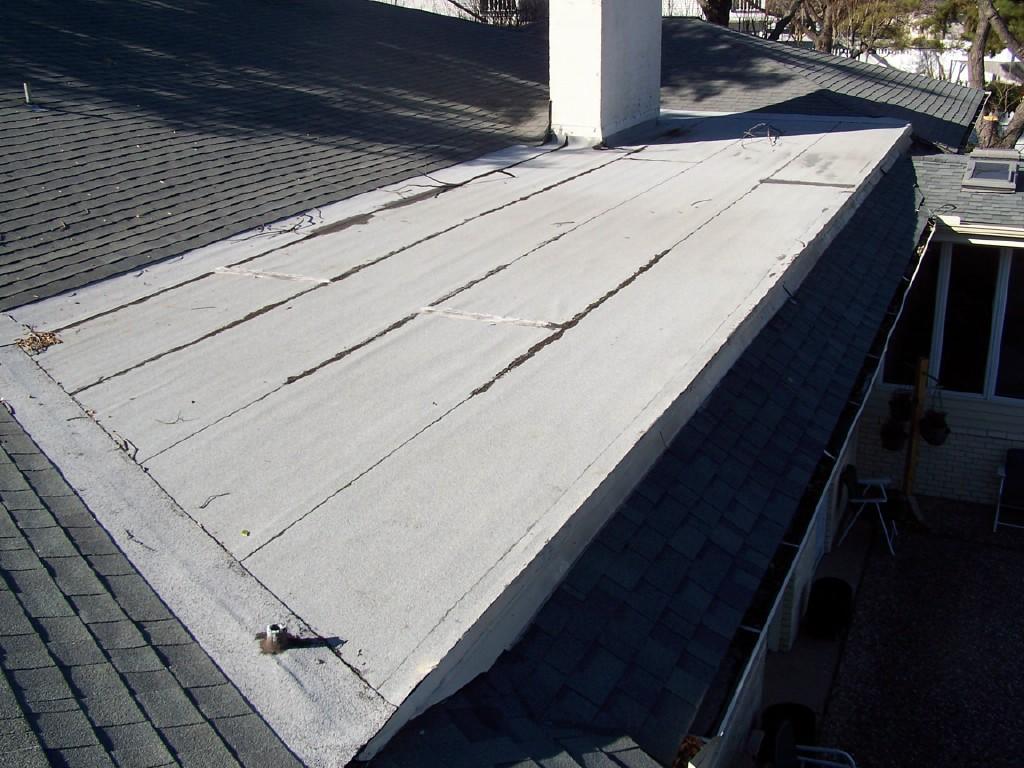 Roof Repair in Garland, TX - Before Photo