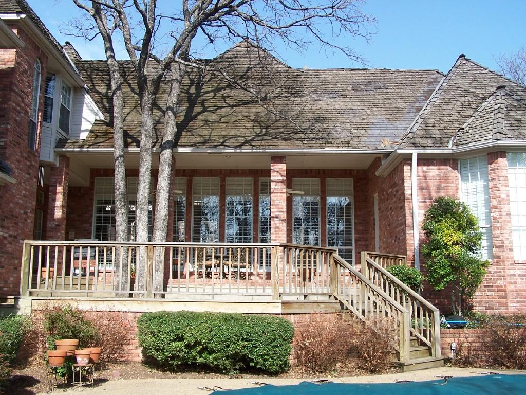 Roof Replacement in Colleyville, TX - Before Photo