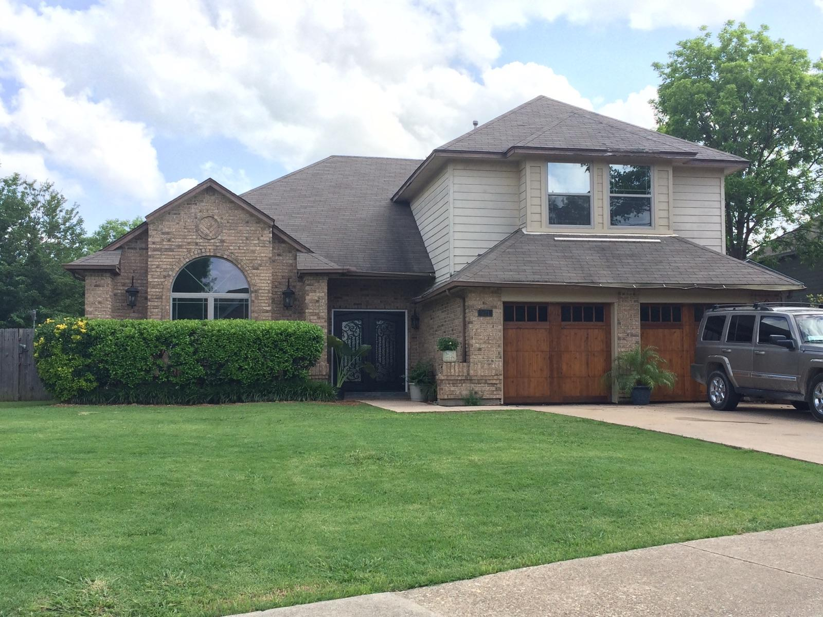 Roof Replacement in Grand Prairie, TX - Before Photo