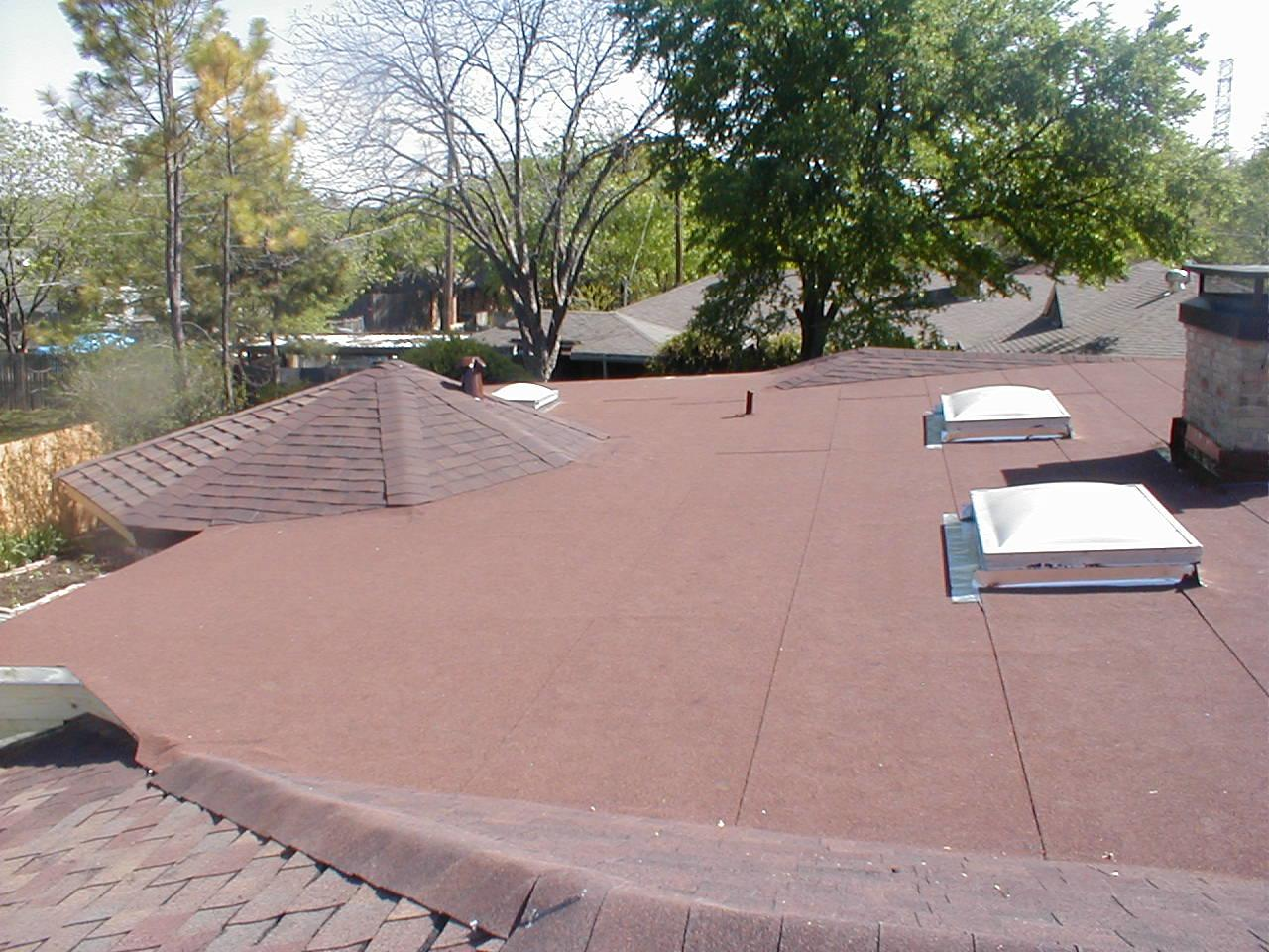 Roof Repair in Dallas, TX - After Photo