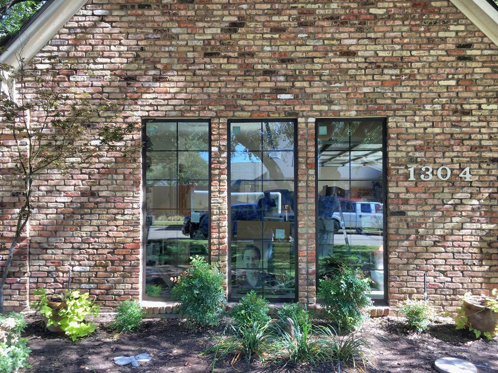 Bronze Aluminum Window Replacement in Plano, TX - After Photo