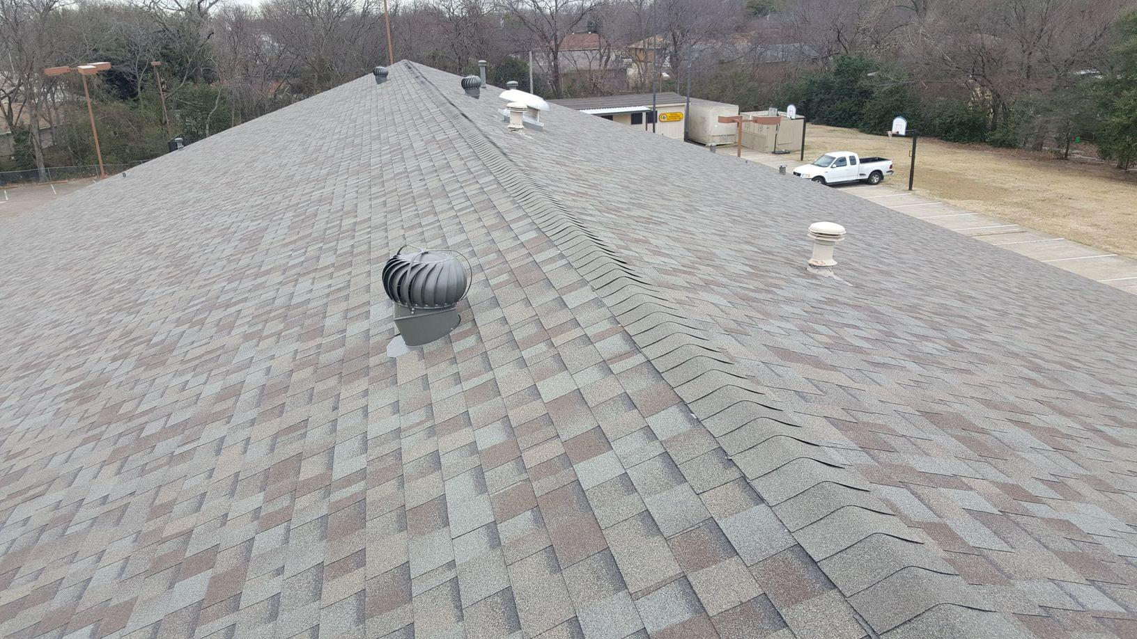 Church Roof Replacement in Dallas, TX - After Photo
