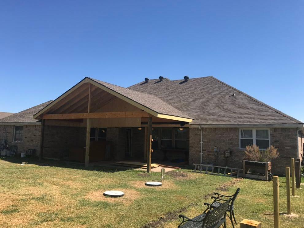 Patio Cover Renovation Waxahachie, TX - After Photo