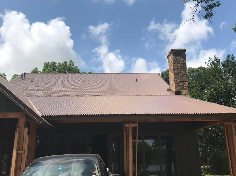 Corrugated Metal Roof Dallas, TX - After Photo