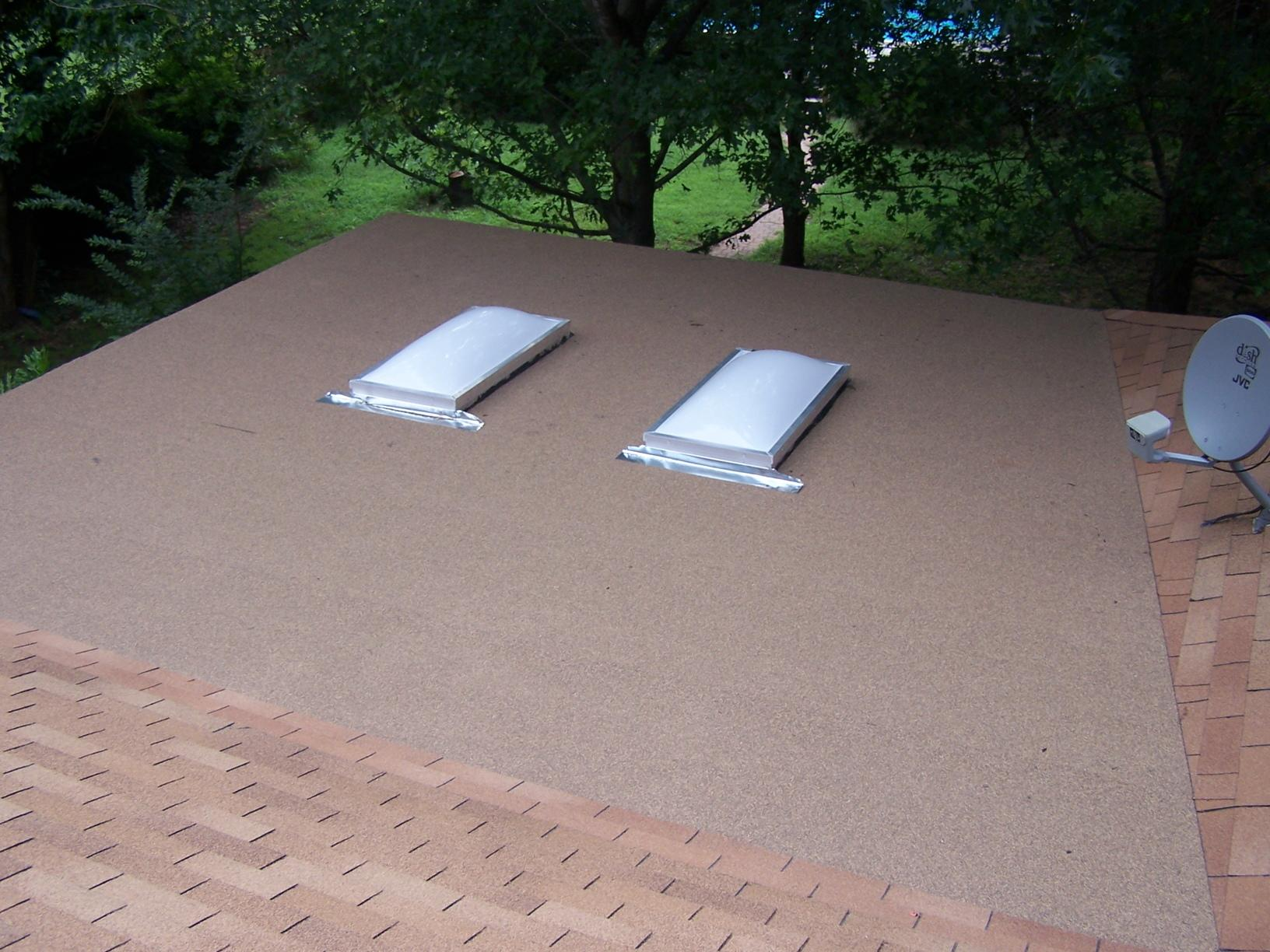 Flat Roof Repair in Mansfield, TX - After Photo