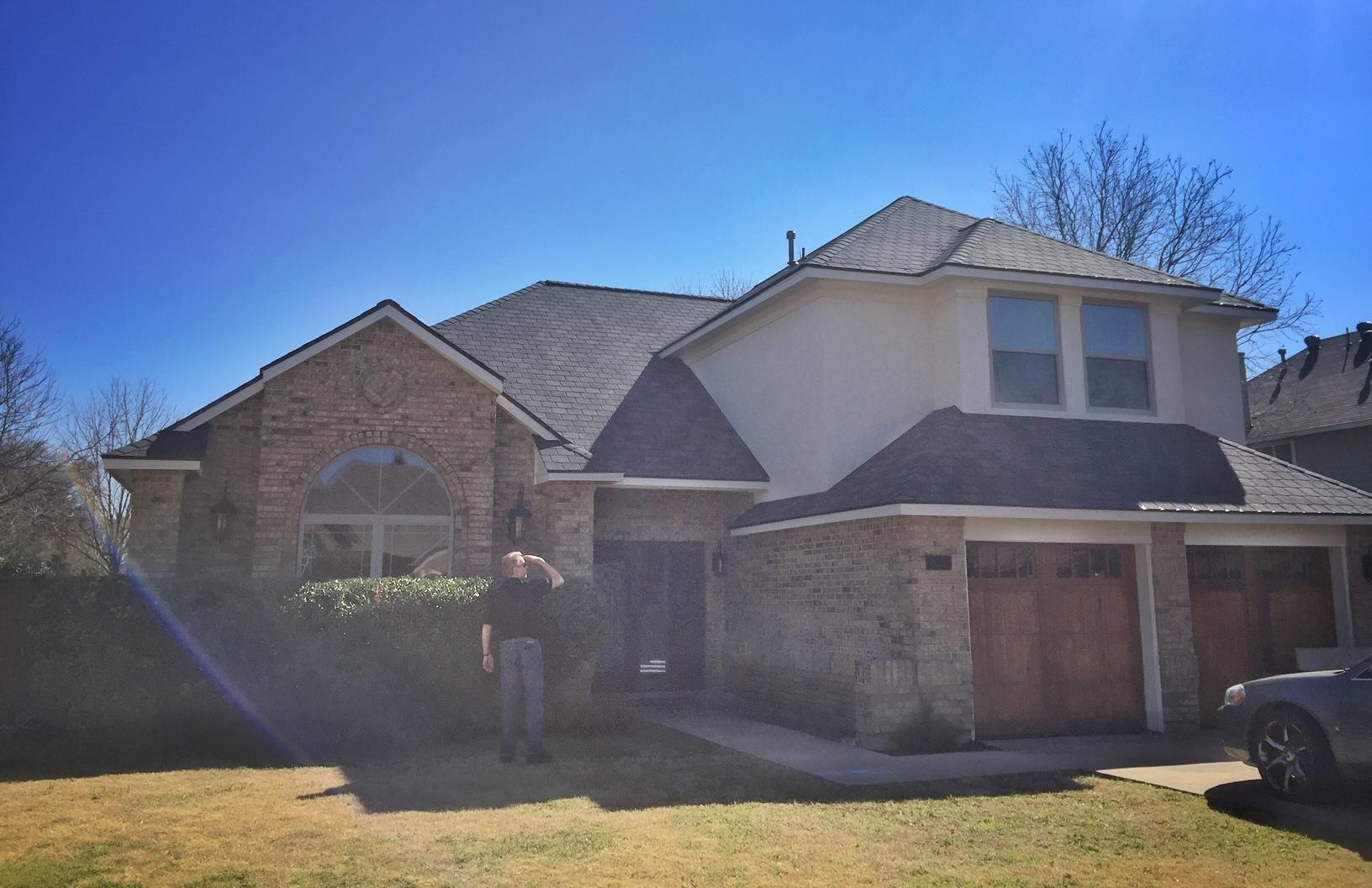 Roof Replacement in Grand Prairie, TX - After Photo