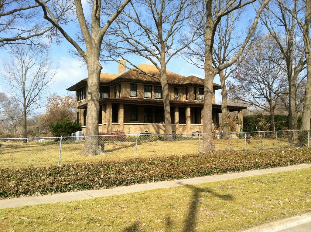 Roof Replacement on Historic Home in McKinney, TX - Before Photo