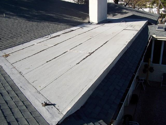 Roof Repair in Garland, TX - Before Photo
