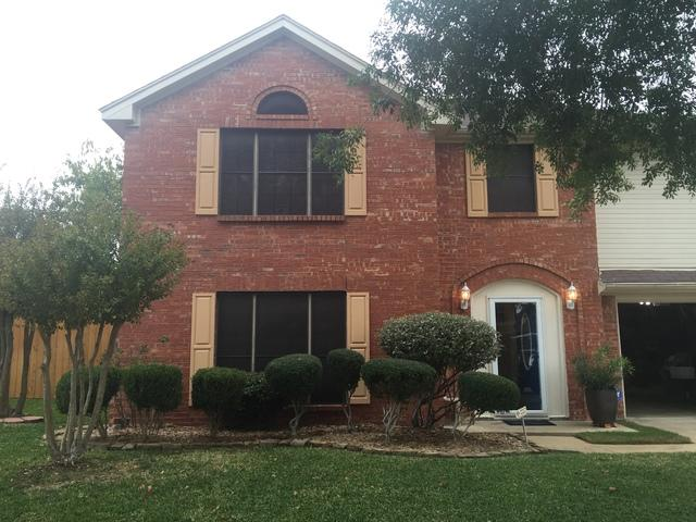 Window Replacement in Rowlett, TX - Before Photo