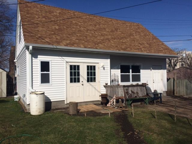 Mastic Downspout Installation in Minneapolis, MN - After Photo