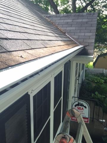 LeafX Gutter Covers Installation in Saint Paul, MN