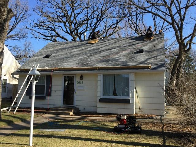 Gutter Replacement with a New Roof in St Louis Park, MN
