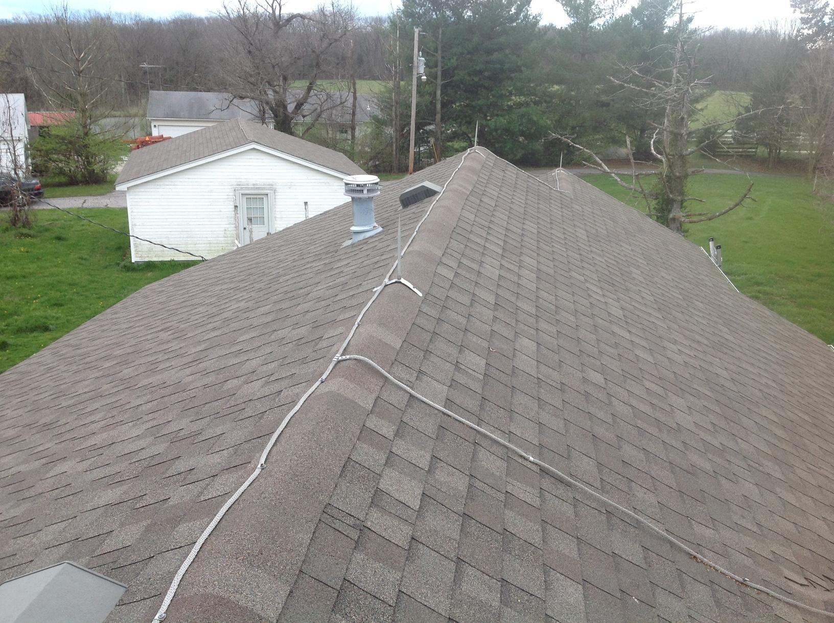 Farm House Roof Replacement in Warrenton, MO - Before Photo