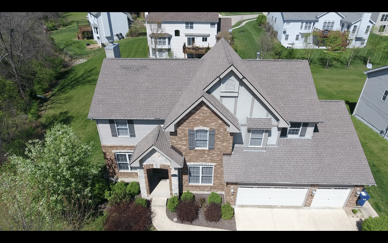 Roof Replacement in Wentzville, MO - Before Photo
