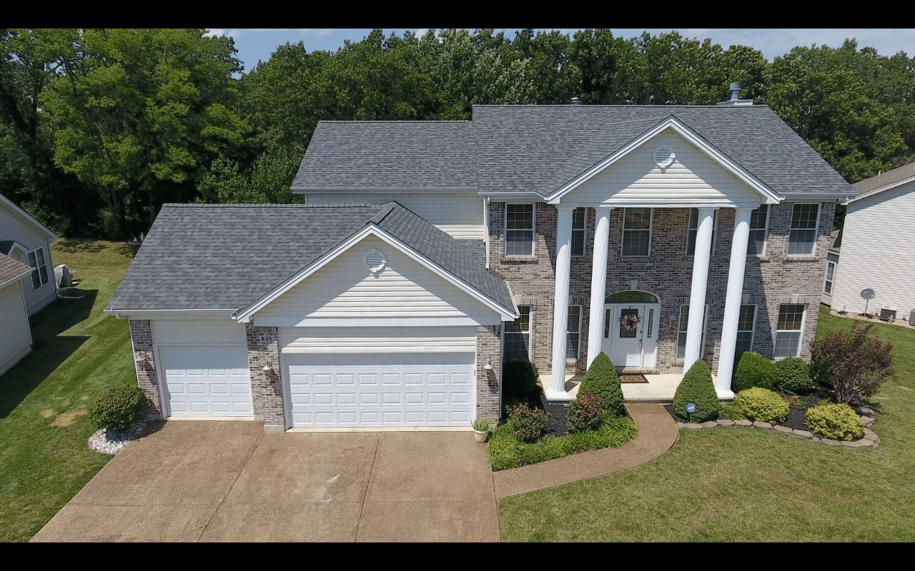 Wentzville MO Two Story Weather Damaged Roof Replacement - After Photo