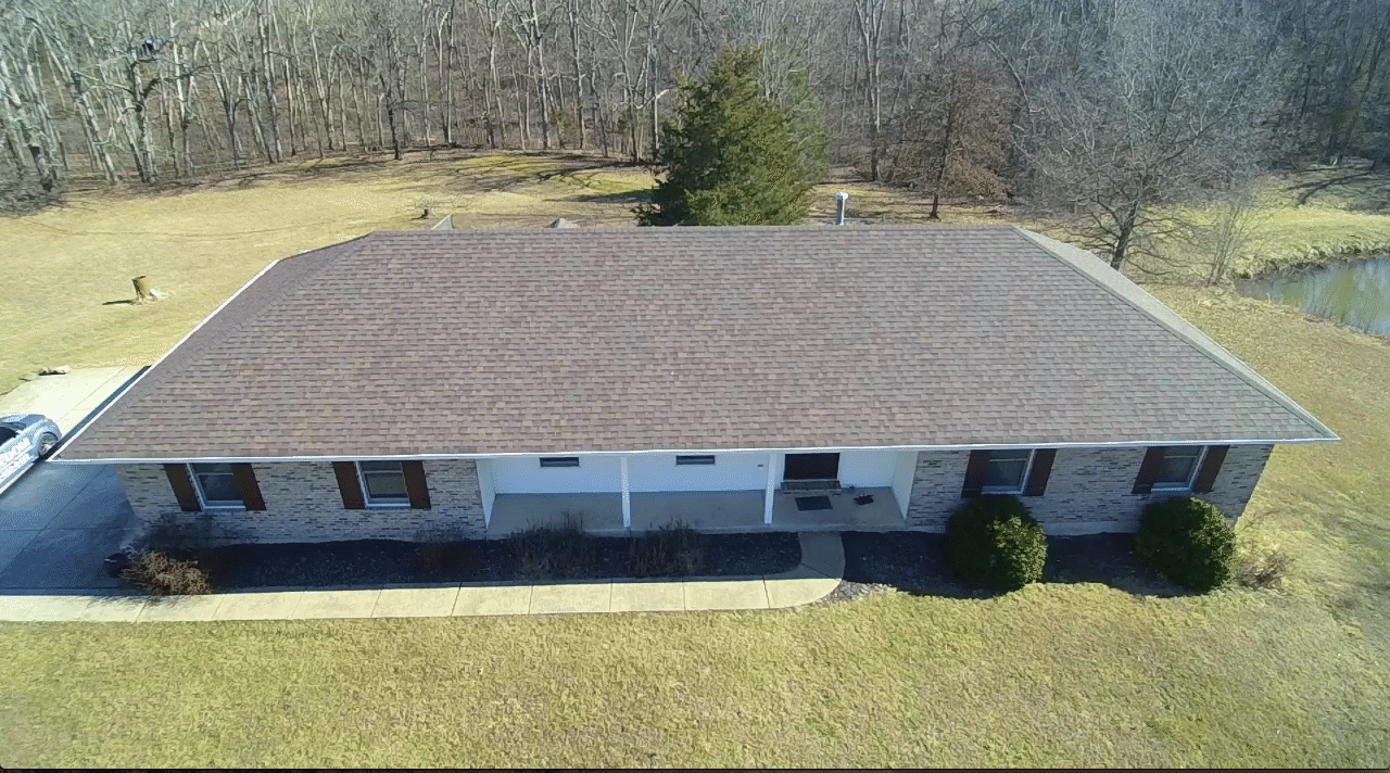 Roof and Gutter Replacement in Warrenton MO - After Photo