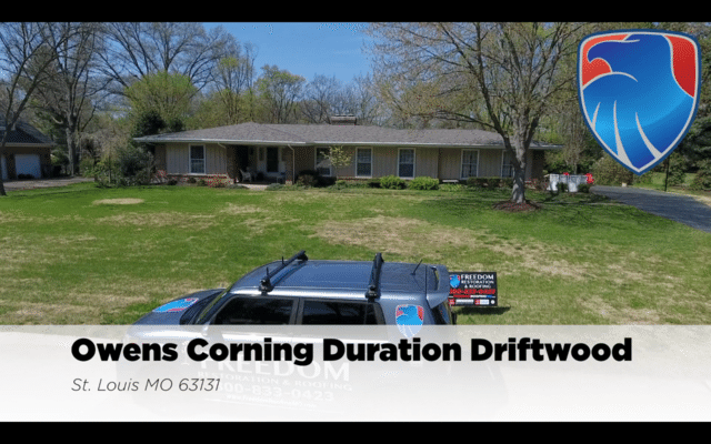 Ownes Corning Duration Roof Replacement in St. Louis