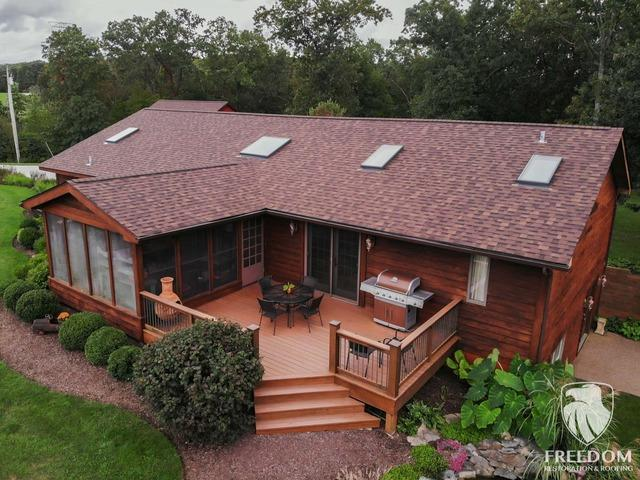 Gorgeous Wright City roofing project!