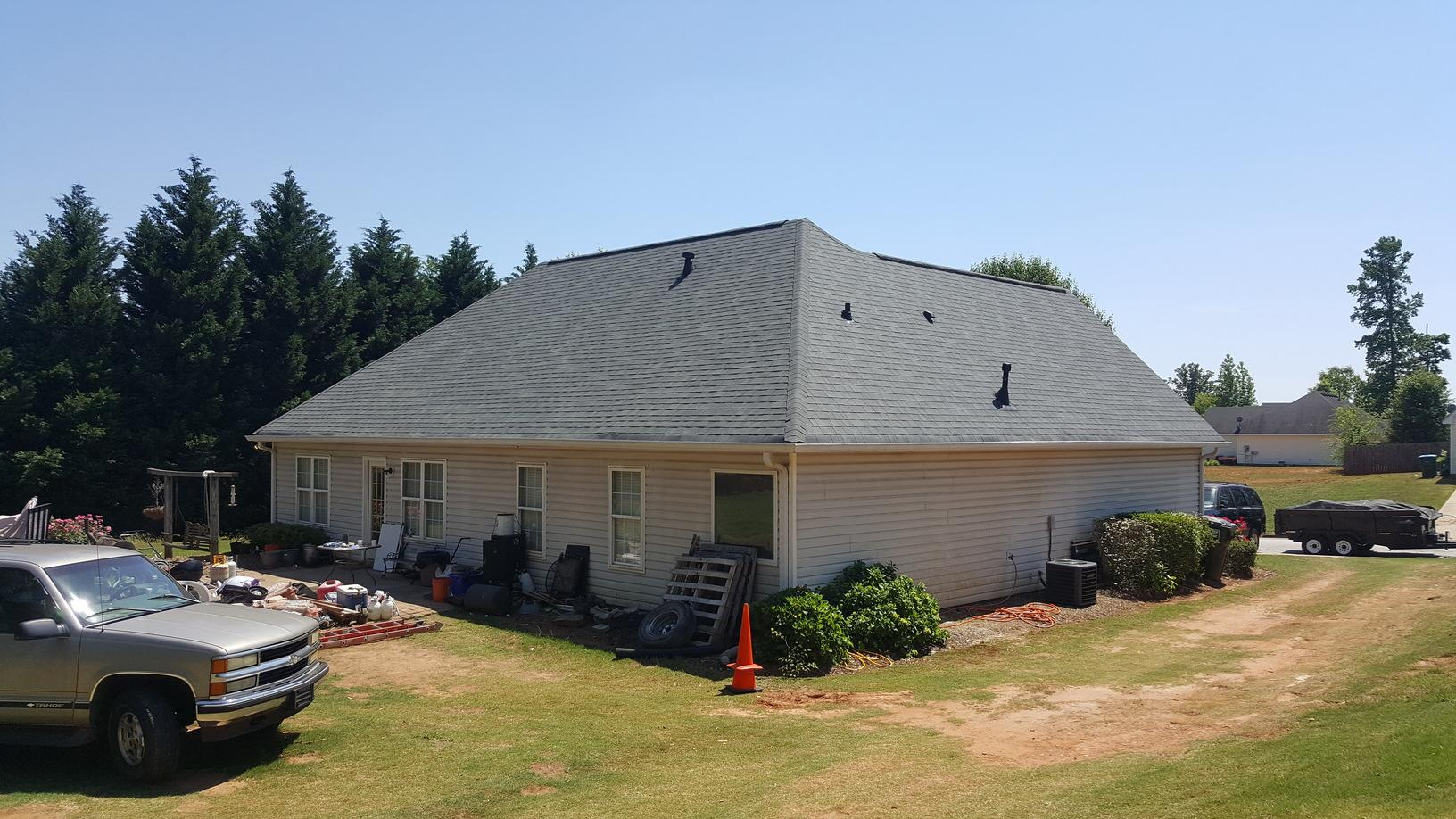New Roof Replacement in Snellville, GA - After Photo