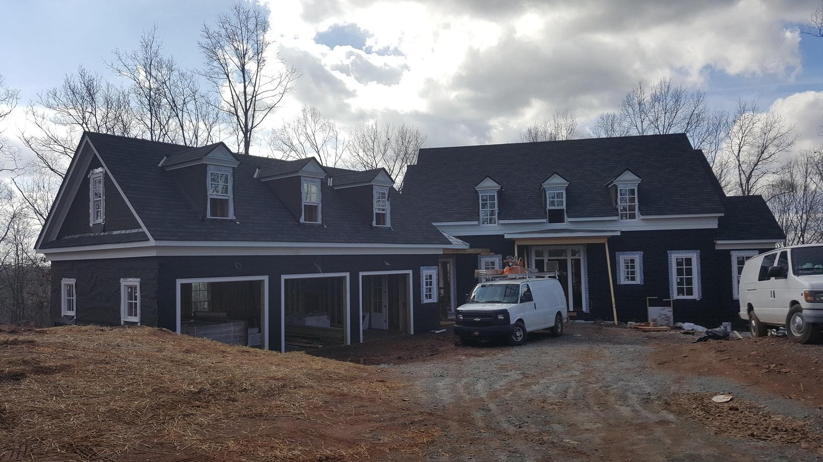 Roof Replacement for a Custom Home Construction in Alpharetta, GA - After Photo