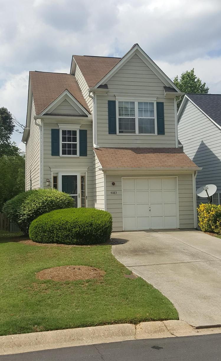 Roof Replacement in Duluth, GA - Before Photo