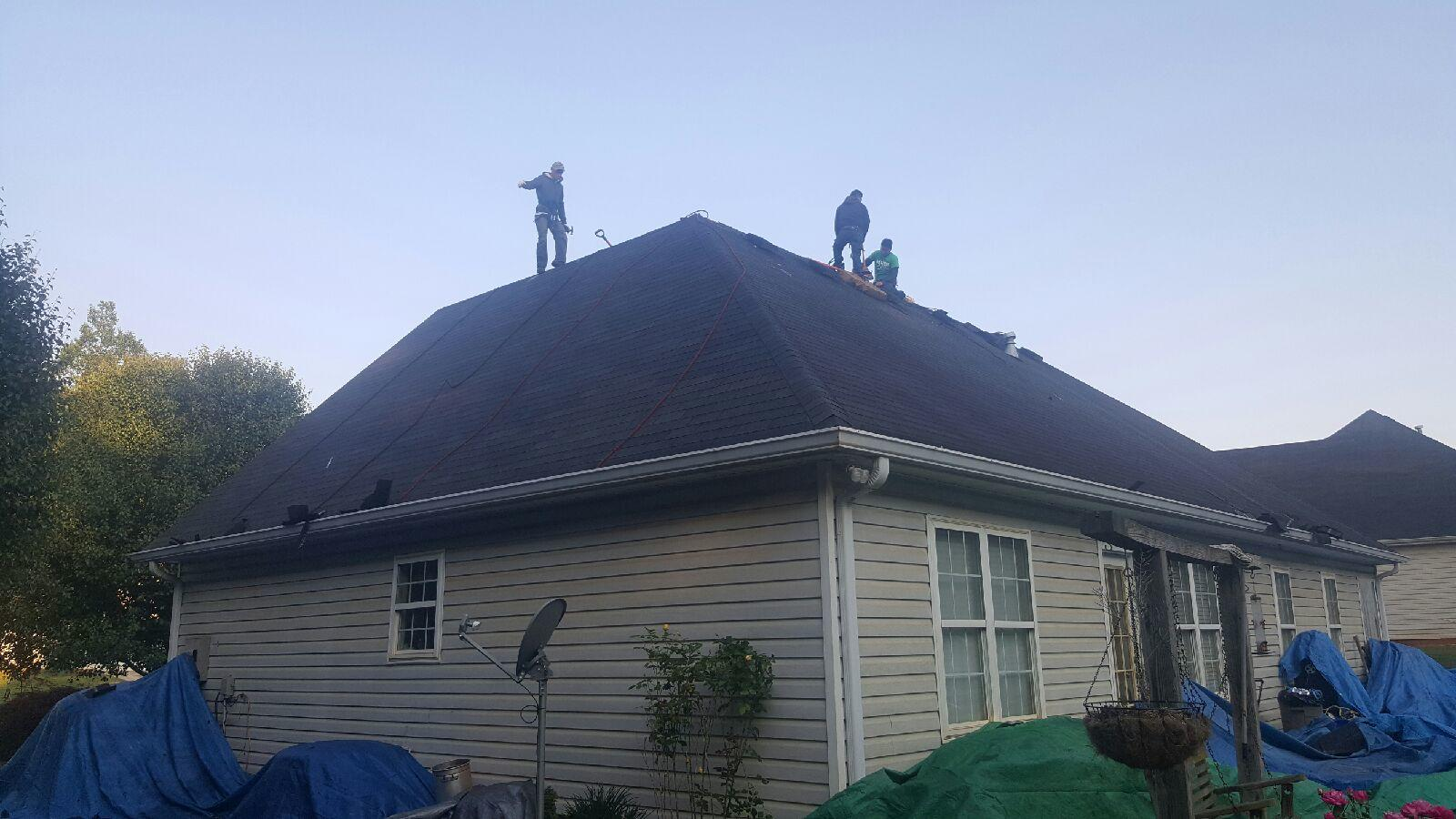 New Roof Replacement in Snellville, GA - Before Photo