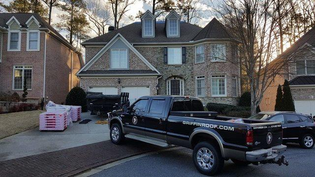 New roof replacement in Sandy Springs, GA