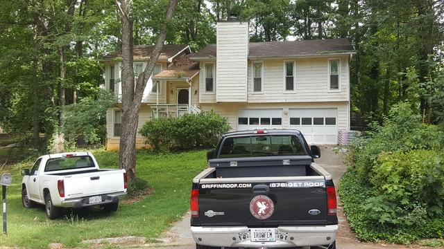 New roof and gutter replacement in Lawrenceville, GA