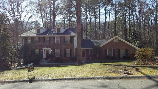 New roof and gutter replacement in Tucker, GA