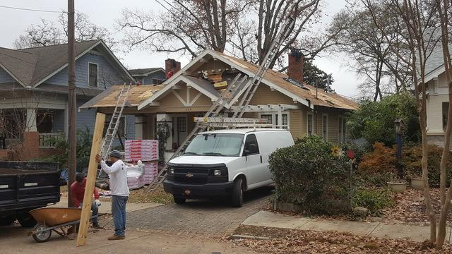 New roof replacement in Decatur, GA