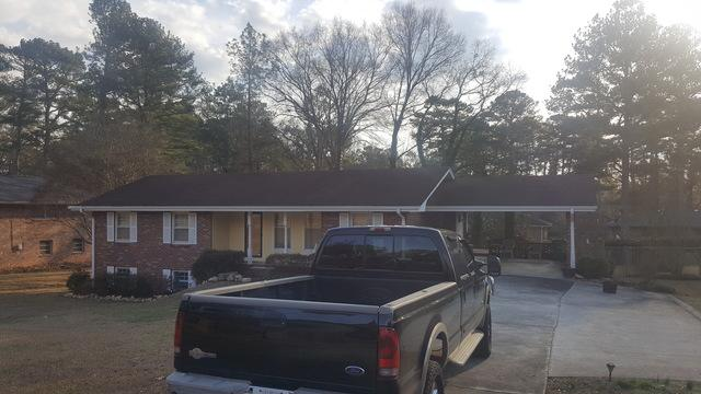 Roof replacement in Decatur, Georgia
