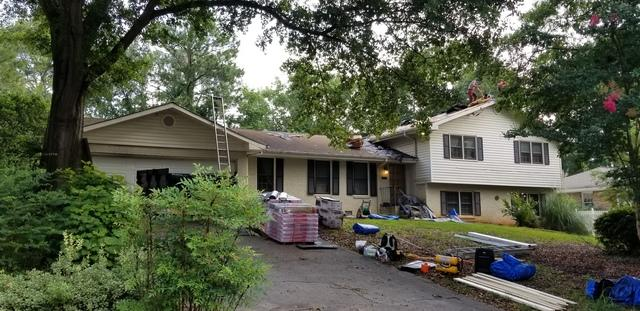New Roof Replacement in Tucker, Georgia