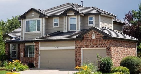 Tile Roof added Curb Appeal and Value in Centennial, Colorado