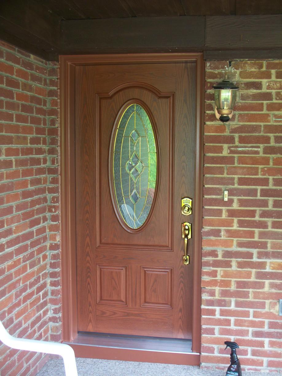 Outdated entry door replaced with beautiful new door in Greensburg, PA - After Photo