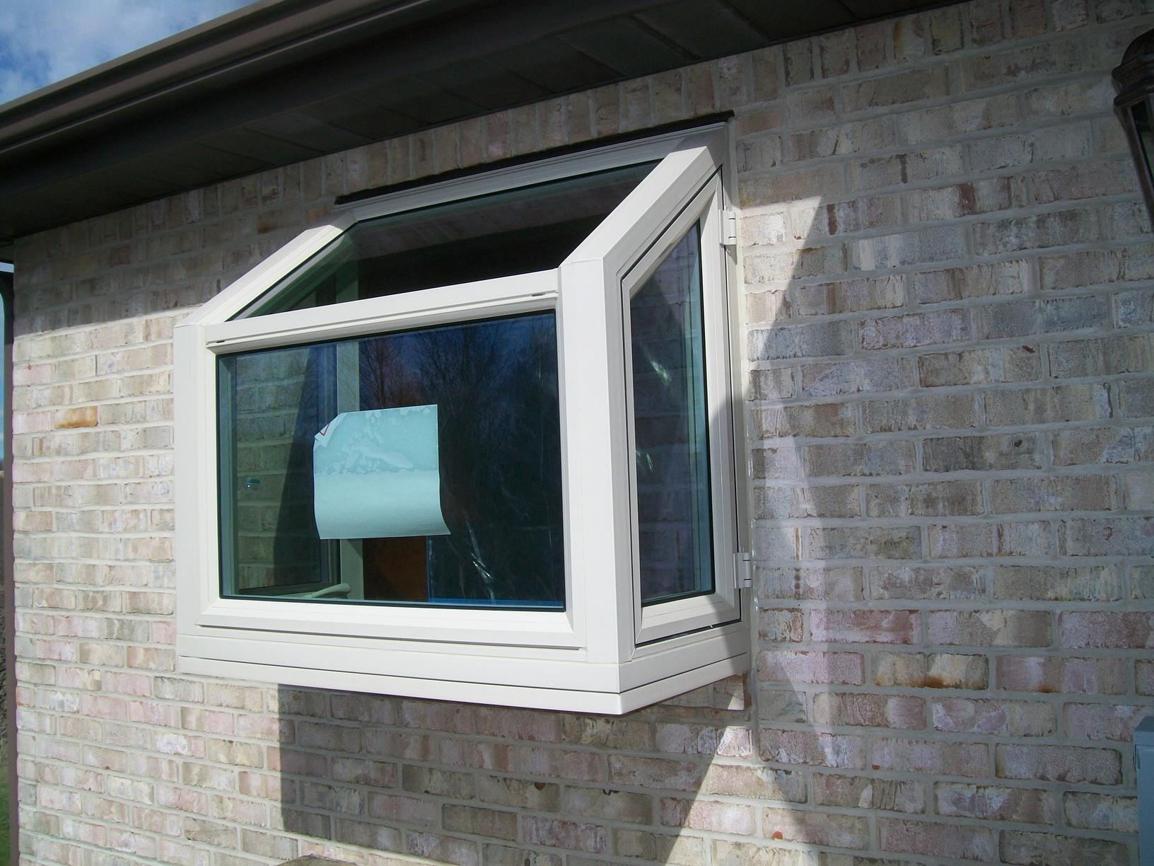 Double hung window replaced by garden window in Greensburg, PA - After Photo