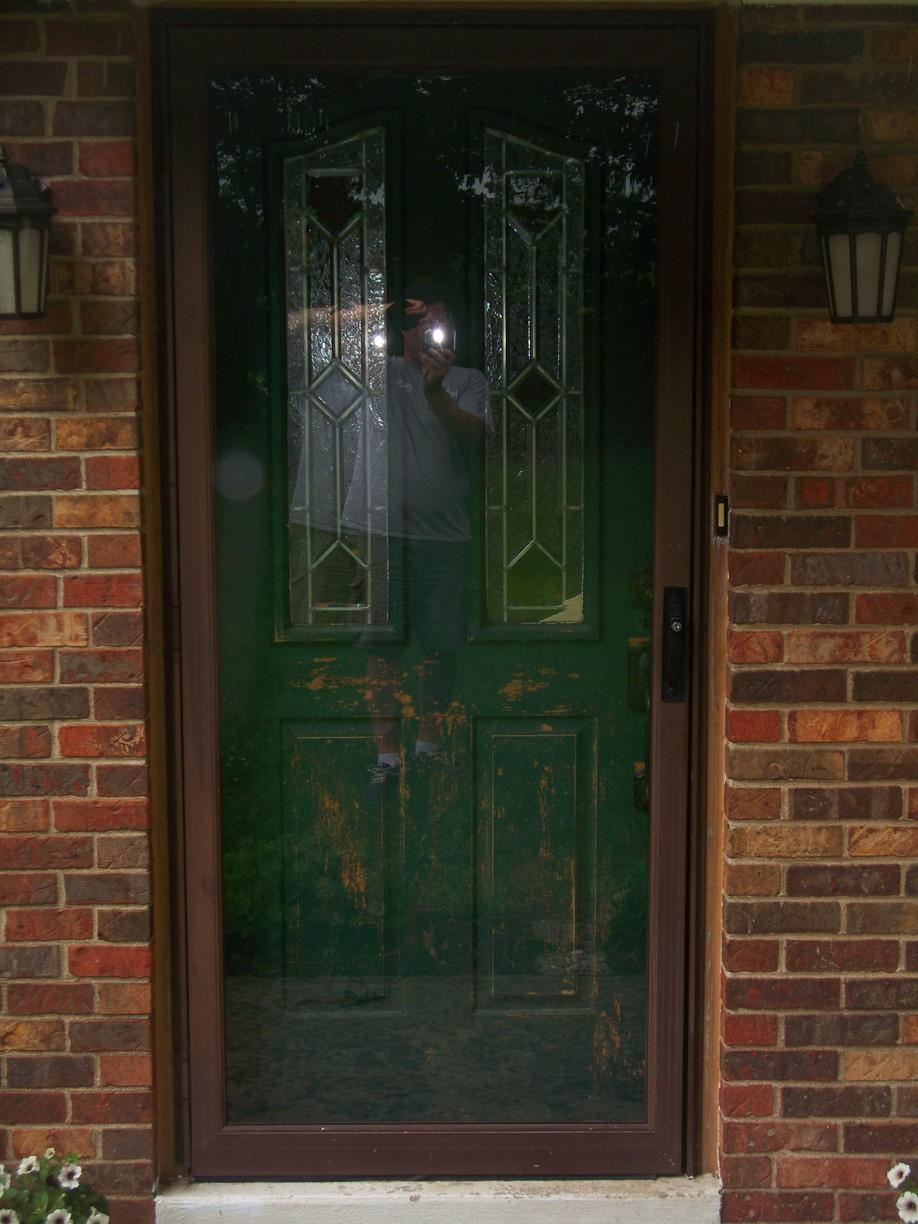 Entry Door Upgrade in Bulger, PA - Before Photo