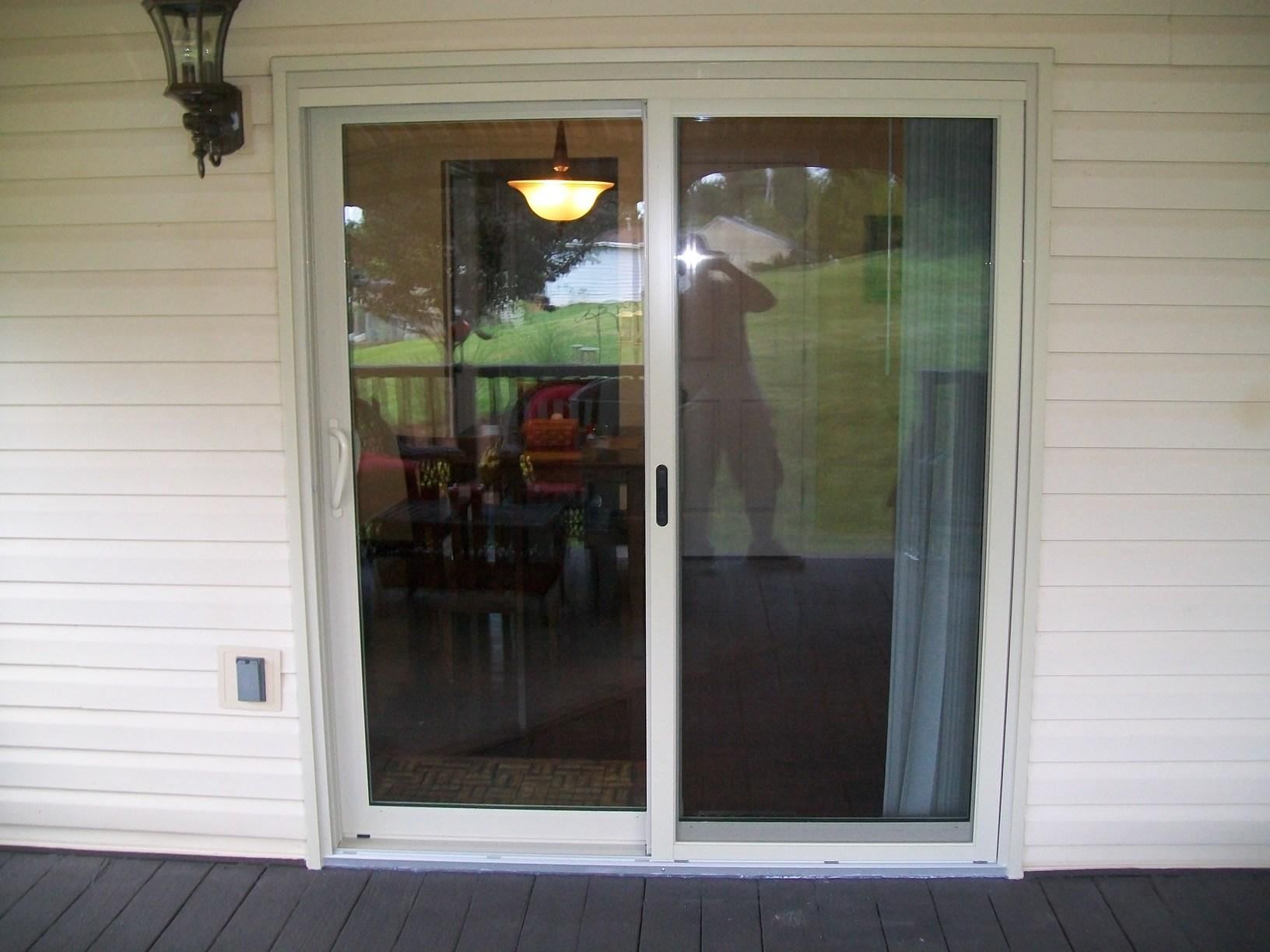 New Energy Effecient Sliding Glass Door Installed in Trafford, PA - After Photo