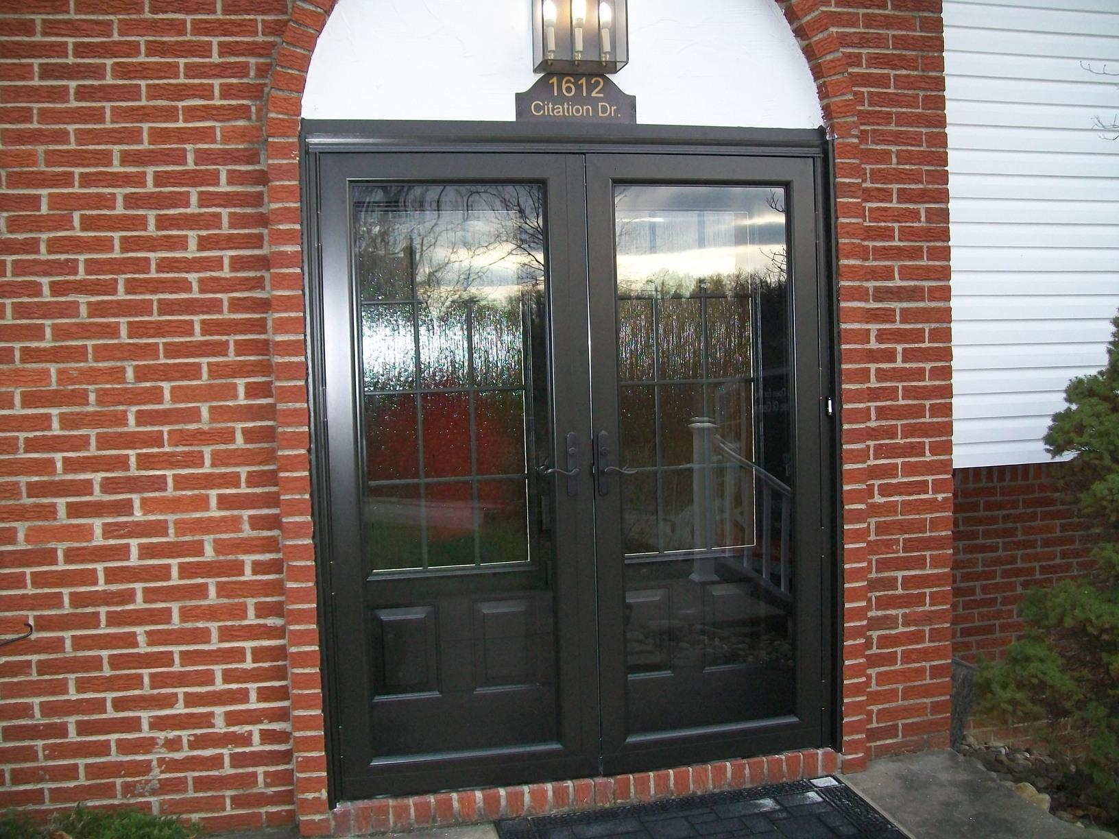Double Entry Door & Storm Door Replacement In South Park, PA - After Photo