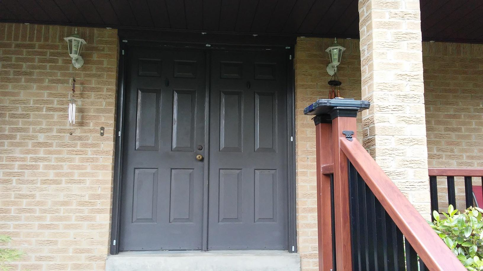 Brand New Entry Door Transformation in Murrysville, PA! - Before Photo