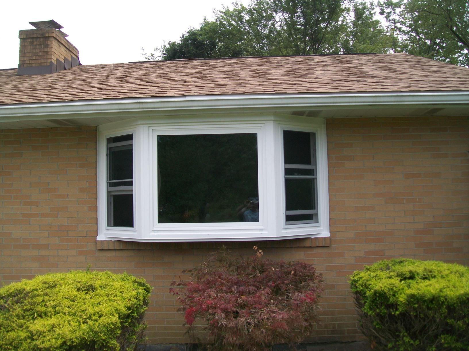 Old Aluminum Window converted into Beautiful Bay for Greensburg, PA clients! - After Photo