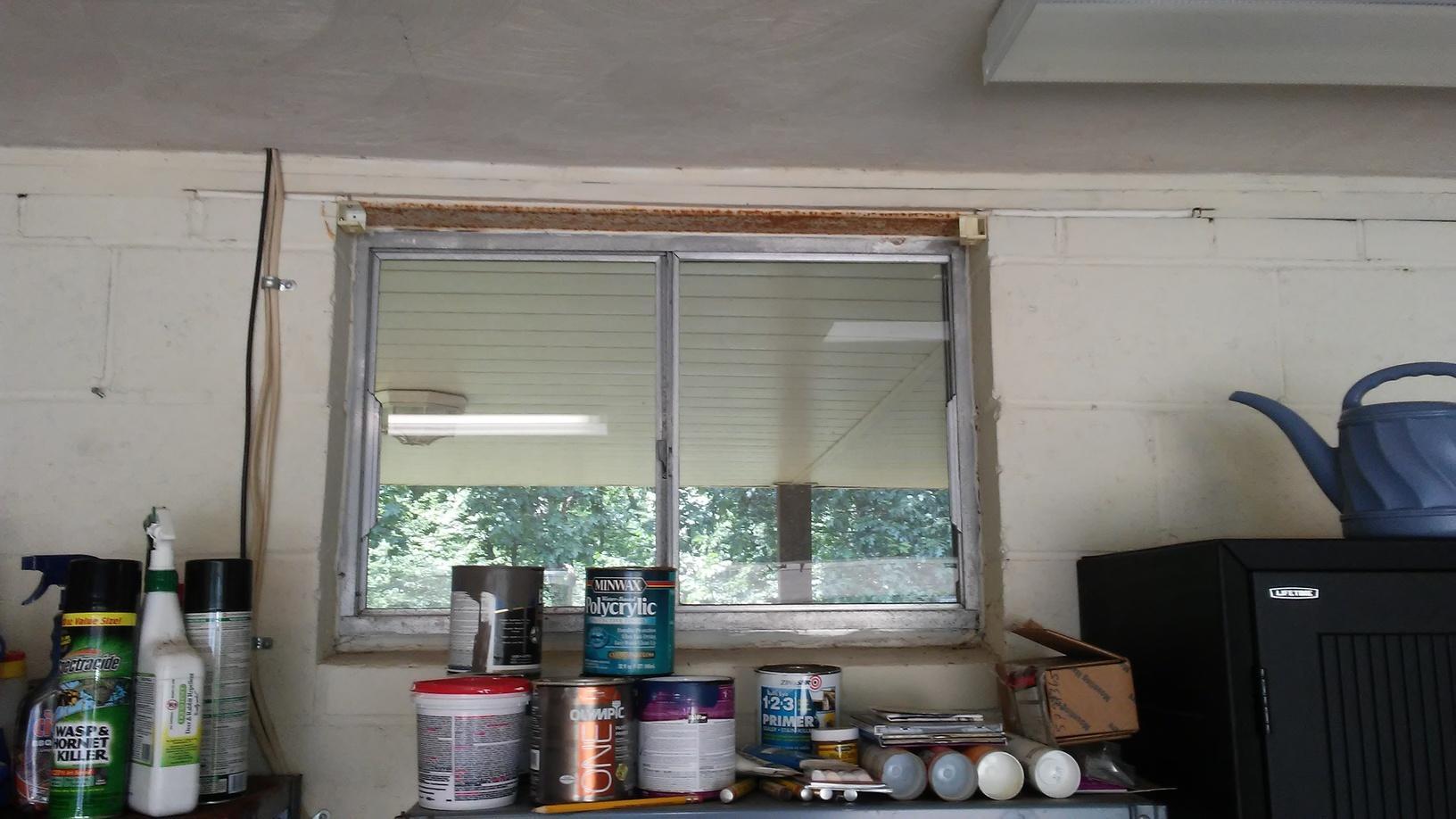 Single Garage Window Replacement in Murrysville, PA! - Before Photo