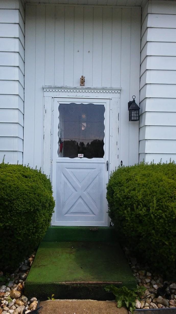 Complete Style Upgrade thanks to new entry door in Irwin, PA! - Before Photo